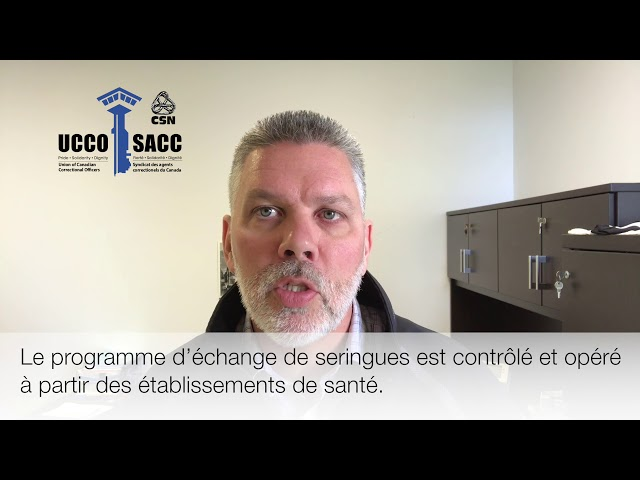 Prison Needle Exchange Program (PNEP) / Programme d'échange de seringues en prison (PESP)