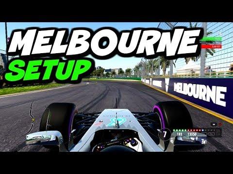 F1 2017 MELBOURNE HOTLAP + SETUP (1:21.046)