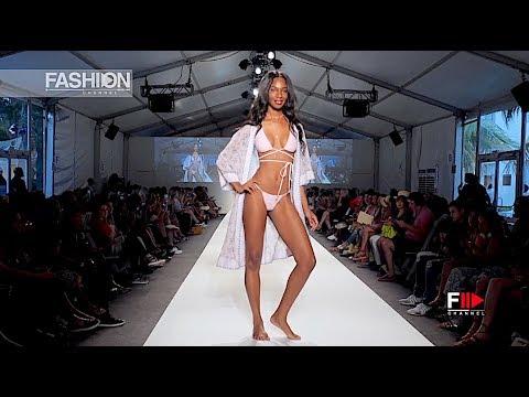 MIA MARCELLE SWIMWEAR Miami Swim Week 2017 SS 2018 - Fashion Channel