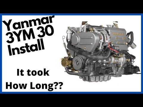 Marine Diesel Engine Installation on my Island Packet 320, Southern Star.