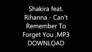 Shakira feat. Rihanna - Can