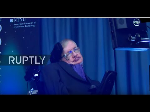 Norway: Stephen Hawking speaks on 'the future of humanity' at Starmus Festival