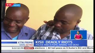 Three people  among them a police officer and a matatu conductor killed in Kisii County