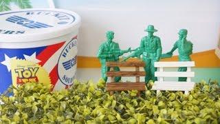 トイ・ストーリー「72人の緑の兵隊・グリーンアーミーメン」 Toy Story Toy 72 green soldiers Green Army men