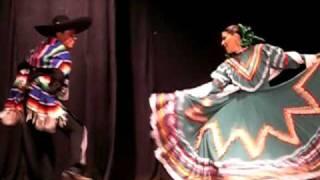 """Alvaro Serrano y Diana Aguilar desde Mexico: """"Jarabe Tapatío"""""""