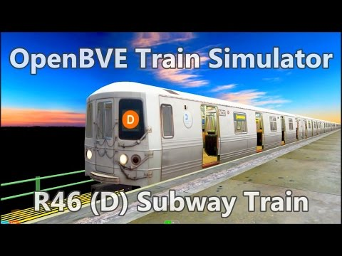 OpenBVE ►R46 | D | 205 St to Coney Island!◀