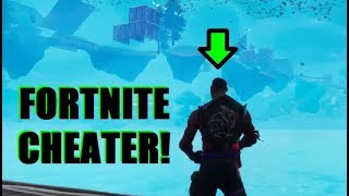 Fortnite Player caught Cheating!!! (EPIC FAIL)