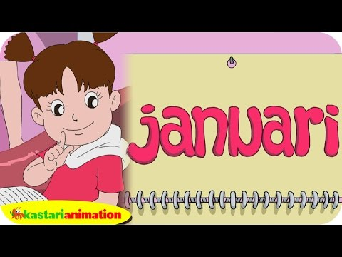 Diva Mengenal Bulan (Januari) Lagu Anak Indonesia | Kastari Animation Official