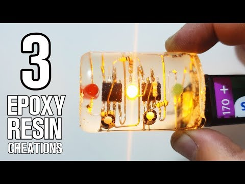 3 Art Resin Ideas- Skeleton Resin Art