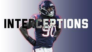 Houston Texans - Every Interception of 2017