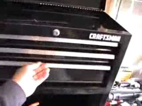 Tool Control Part 1 - Craftsman 5 Drawer Homeowner Tool ...