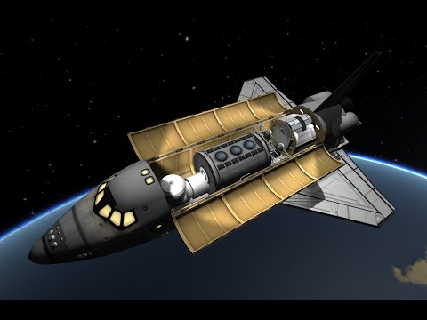 KSP STS-2 SpaceHab (STS-107) Columbia Memorial Flight