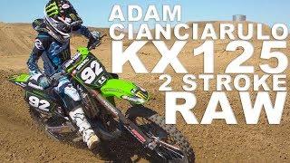 Adam Cianciarulo KX125 2 Stroke RAW - Motocros Action Magazine