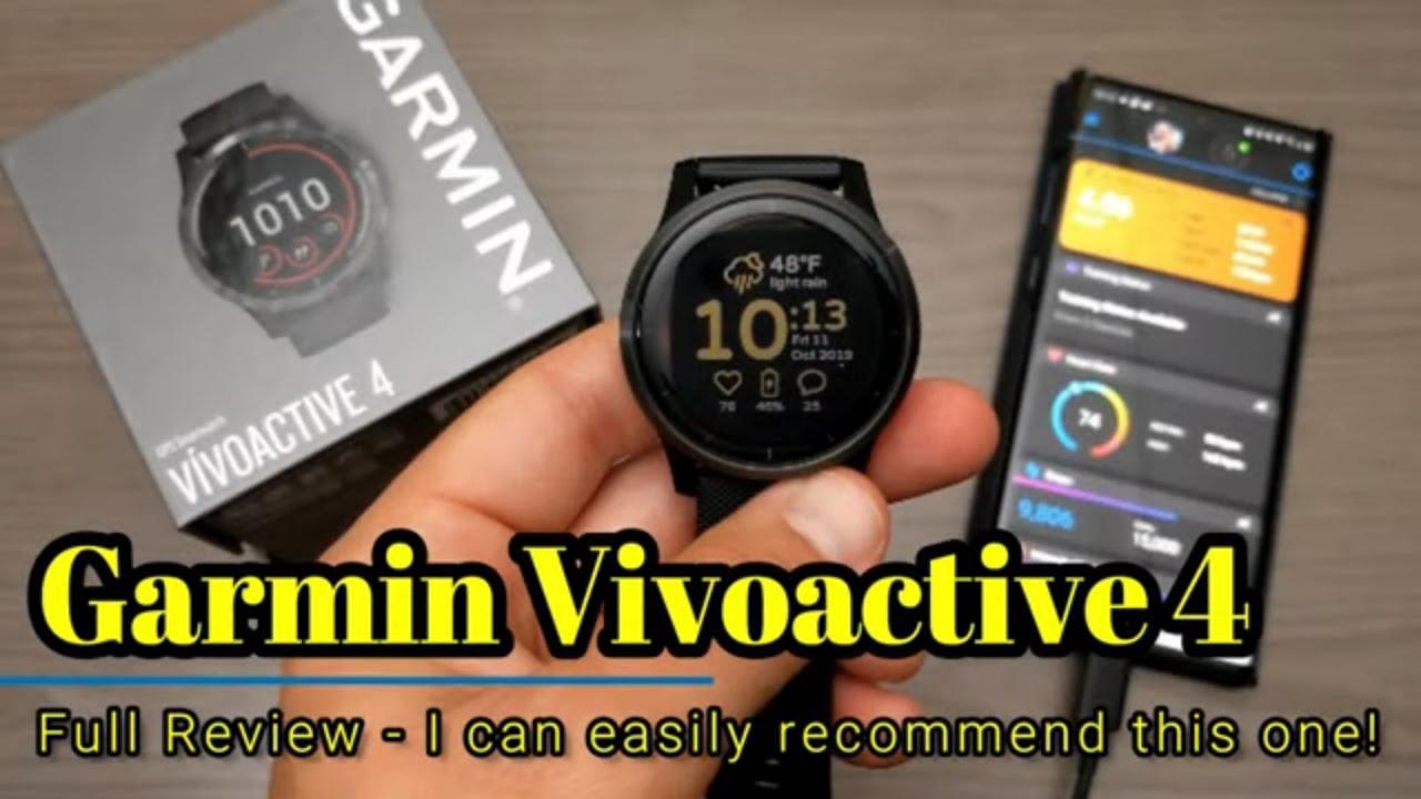 ガーミン vivoactive4