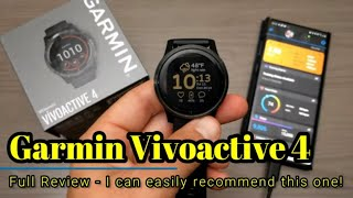 Garmin Vivoactive 4 - Full Review - This is an easy one to recommend!