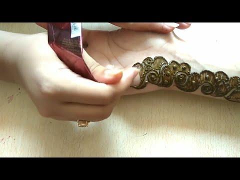 Download Youtube: Simple arabic mehndi design||easy design for beginners||quick heena design