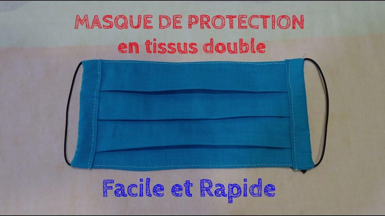 masque en tissu protection