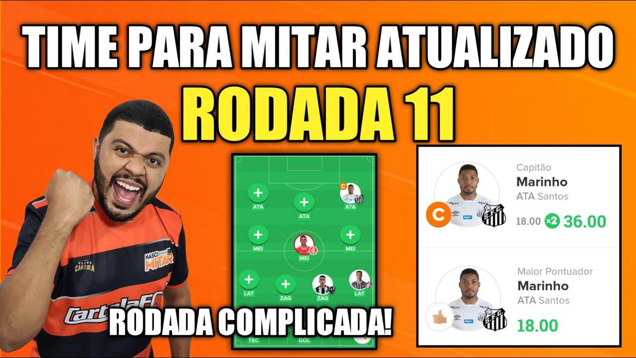 DICAS RODADA 11 - TIME PARA MITAR ATUALIZADO - CARTOLA FC 2020