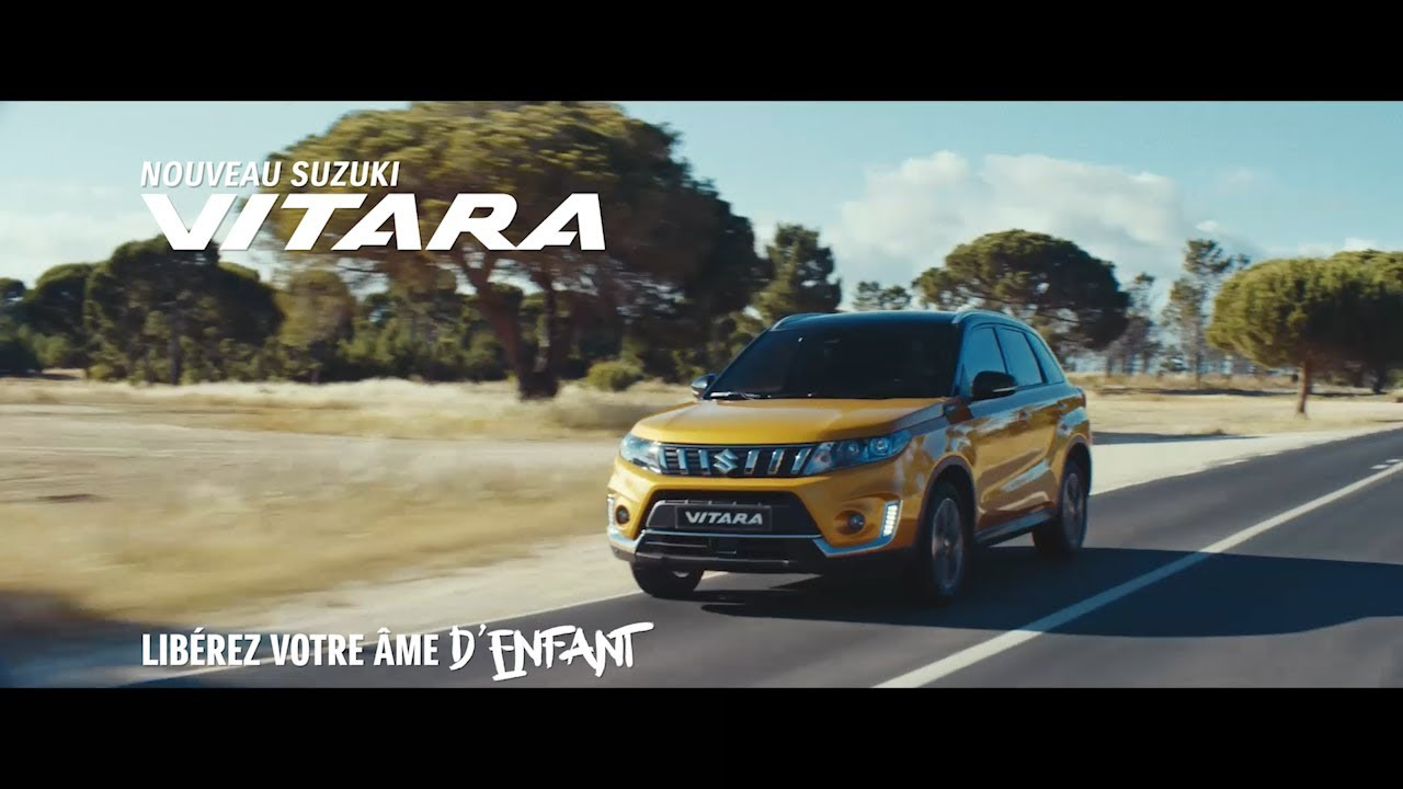 suzuki vitara 2018 publicit tv youtube. Black Bedroom Furniture Sets. Home Design Ideas
