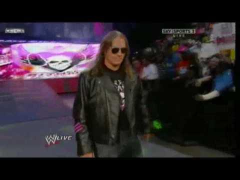 Bret Harts Return  Raw 1/4/10