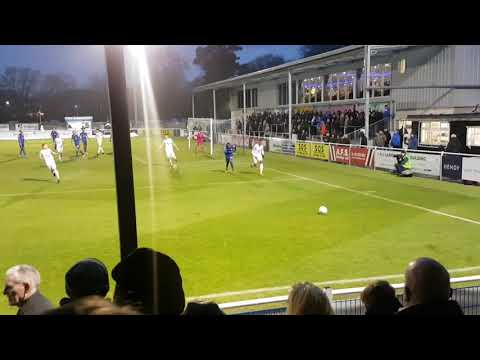 Eastleigh FC vs Torquay United Vlog 17/18 Flare goes off!!