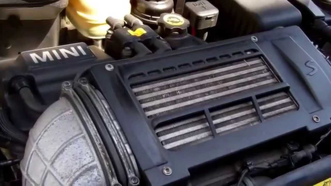how to change the drive belt on bmw mini cooper s youtube