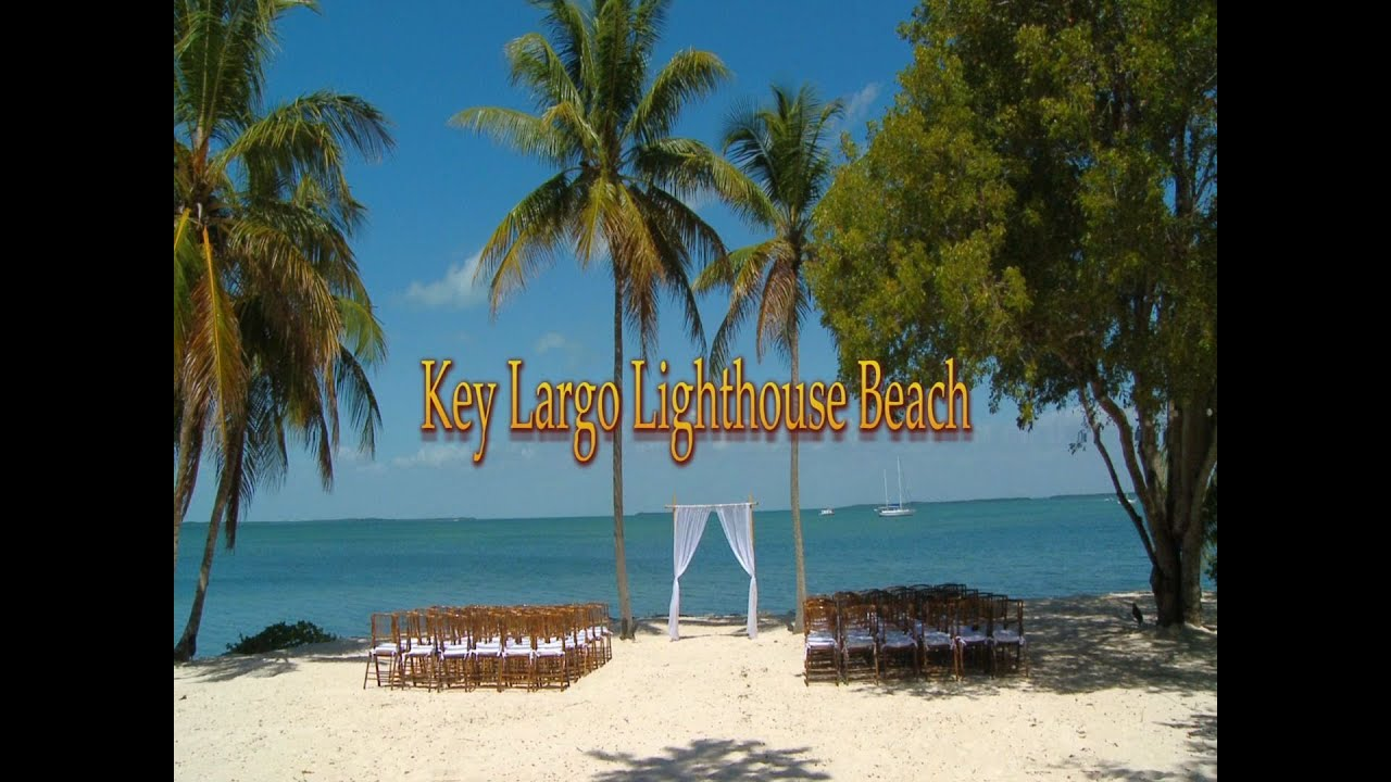 Key Largo Lighthouse Beach Youtube