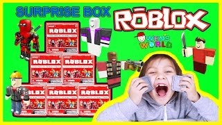 NEW ROBLOX TOYS UNBOXING Blind Box Roblox Surprise Toy Opening Owens World