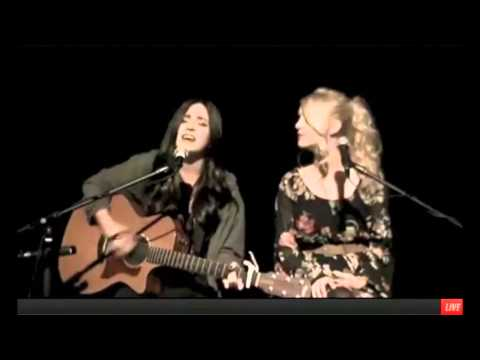 """Megan & Liz- """"In The Shadows Tonight"""" LIVE On Stageit October 15th 2013"""
