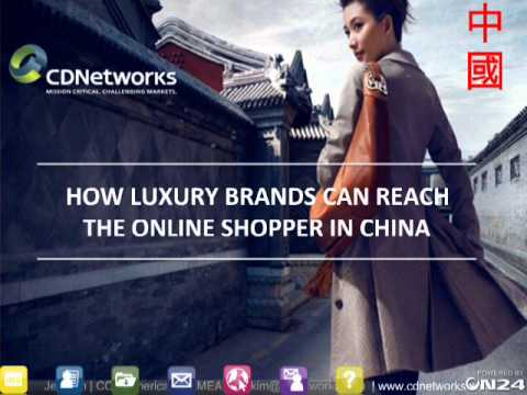 How Luxury Brands Can Reach the Online Shopper in China