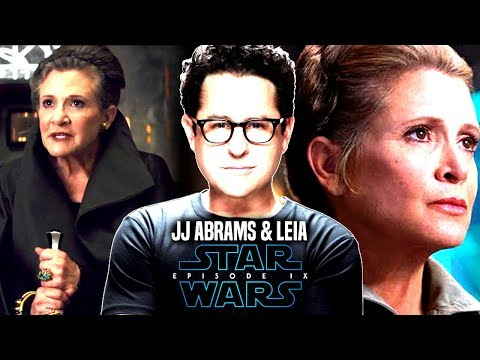 Star Wars! JJ Abrams HUGE Thing For Leia Coming In Episode 9 (Star Wars News)
