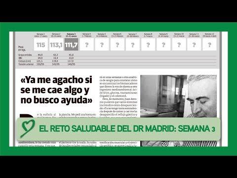 El RETO SALUDABLE del Doctor Madrid: SEMANA #03