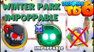 BTD6 - Winter Park - Impoppable - hard (no knowledge)