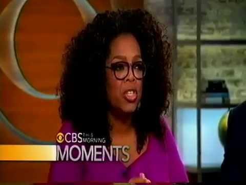 Oprah Talks Cival Rights & Selma CBS Morning Show