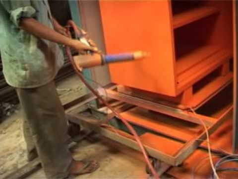 Powder Coating Plant For Almirah By Shree Electro Equipments Youtube
