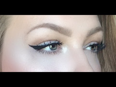 How to winged liner for hooded lids and downturned eyes youtube ccuart Gallery