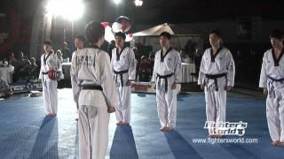 KEIMYUNG UNIVERSITÄT TAEKWONDO DEMO TEAM Daegu/ Korea - FIGHTERSWORLD SUPERSHOW 2012