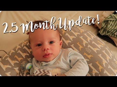 2.5 MONTH UPDATE | POSTPARTUM | BREASTFEEDING