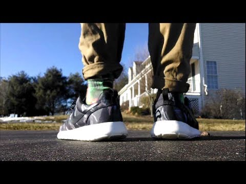 698e111886 Nike Roshe Run GPX Review + On Foot Looks! - YouTube