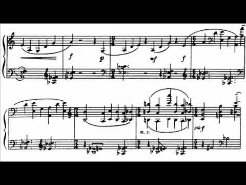 Argerich plays Bartók - Piano Sonata, Sz. 80 Audio + Sheet music