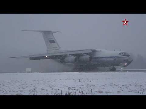 Полеты Ил-76 в
