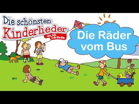 Die Räder vom Bus | Kinderlieder mit Text zum mitsingen