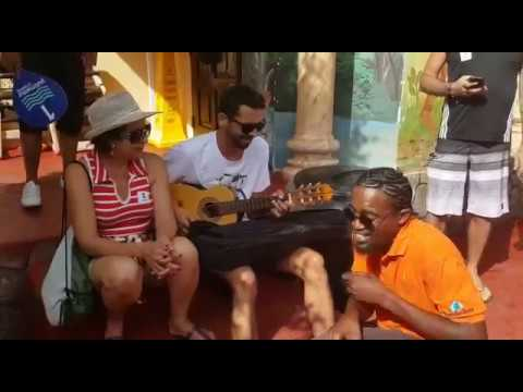 "Cristiano Nogueira & Andrew Clarke - Bob Marley's ""No Woman No Cry"" @ Ocho Rios - Jamaica"