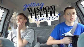 Wisdom Teeth Surgery for Brevin and Spencer