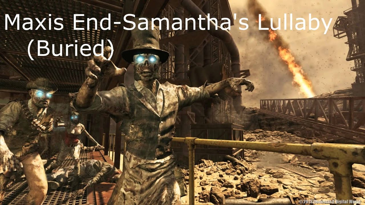 call of duty zombies all samantha songs - youtube