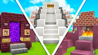 15 EASY TO BUILD REDSTONE CREATIONS THAT BLOW YOUR MIND!