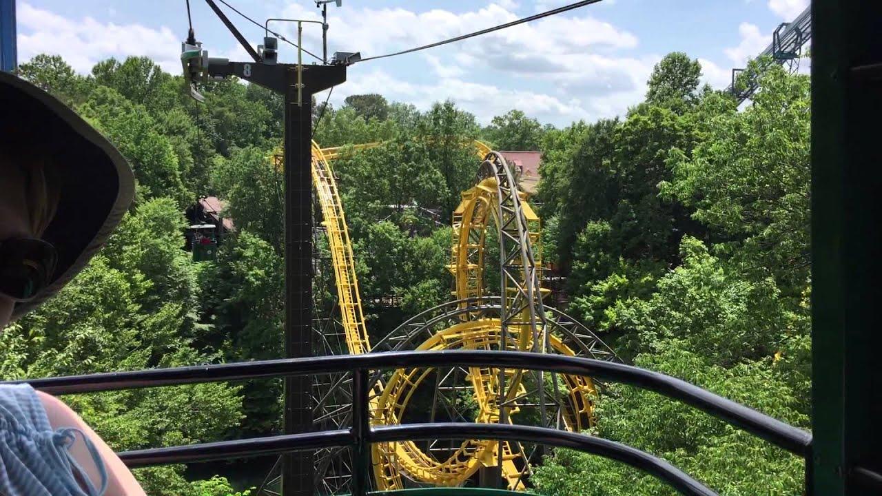 Busch Gardens Skyride Germany To England