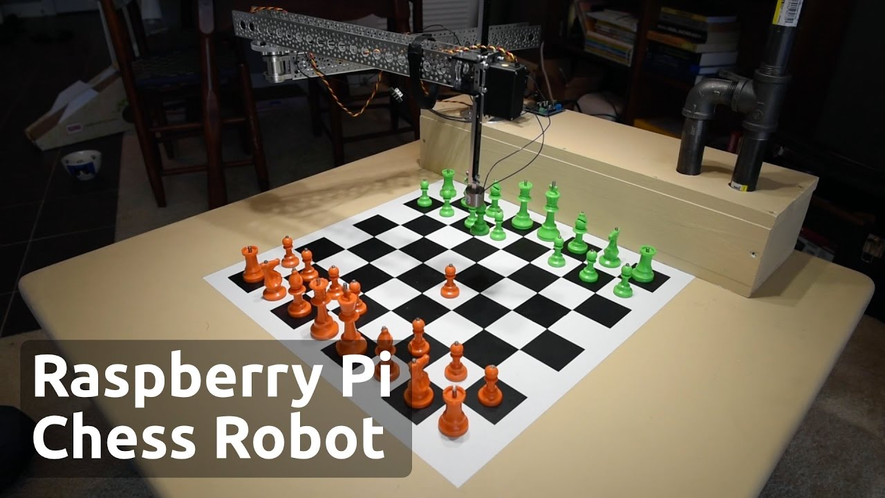 Chess Playing Robot Powered by Raspberry Pi - Raspberry Turk