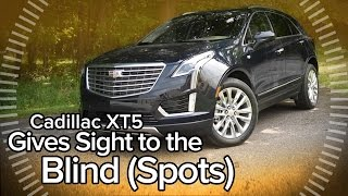 How the 2017 Cadillac XT5's Blind Spot-Busting Rear-View Mirror Works: Feature Focus