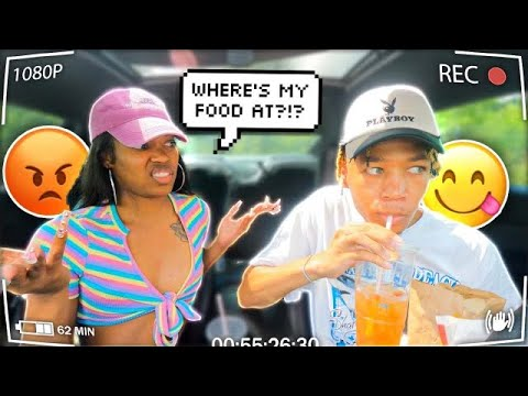 Download FORGETTING MY GIRLFRIEND DRIVE THRU ORDER TO SEE HER REACTION!